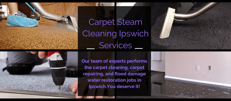 Carpet Steam Cleaning Ipswich Services
