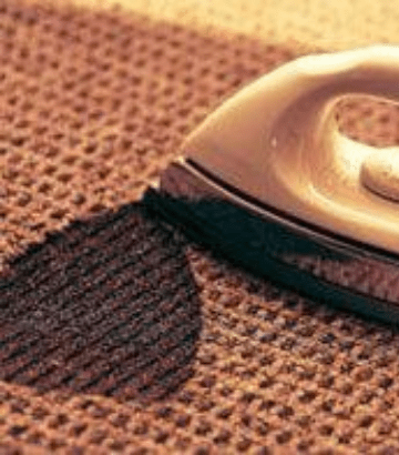 Repair Carpet Burns